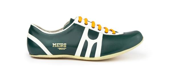 Zapatilla deportiva hecha a mano en Barcelona Mates Moss TrackField